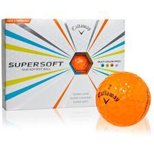 Callaway Golf Supersoft Orange ID-Align Golf Balls