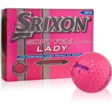 Srixon Soft Feel Lady Pink ID-Align Golf Balls