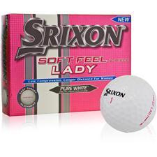 Srixon Soft Feel Lady White ID-Align Golf Balls