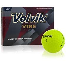 Volvik Vibe Yellow ID-Align Golf Balls