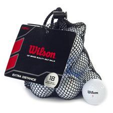 Wilson Mesh Bag Golf Ball 18-Pack