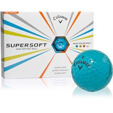 Callaway Golf Supersoft Blue Personalized Golf Balls