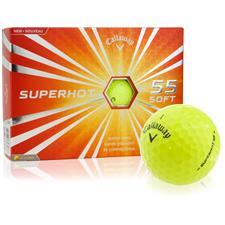 Callaway Golf Superhot 55 Yellow Personalized Golf Balls