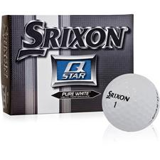 Srixon Prior Generation Q-Star Pure White Personalized Golf Balls
