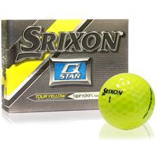 Srixon Q-Star Tour Yellow Personalized Golf Balls