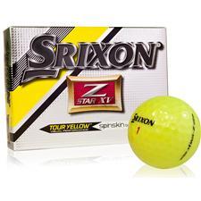Srixon Z Star XV 4 Tour Yellow Personalized Golf Balls