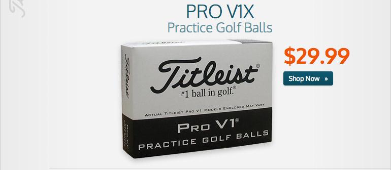 Pro V1x Practice Golf Balls
