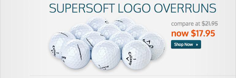 Callaway Supersoft Logo Overruns