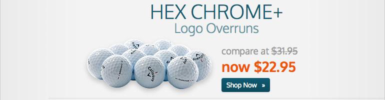 HEX Chrome+ Logo Overruns