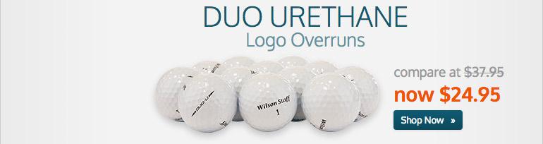 Duo Urethane Logo Overruns