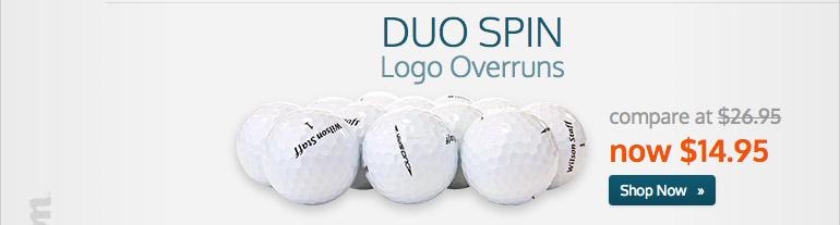 Duo Spin Logo Overruns