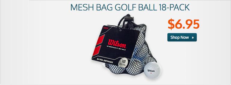 Mesh 18 Ball Bag