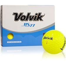 Volvik DS77 Yellow Golf Balls