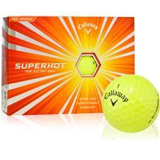 Callaway Golf Super Hot Yellow Personalized Golf Balls