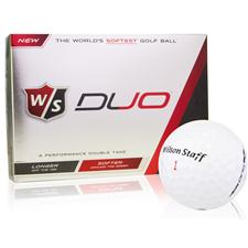 Wilson Staff Duo Personalized Golf Balls