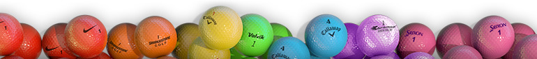 Enhanced Visibility with Colored Golf Balls