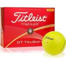 Titleist DT TruSoft Yellow Golf Balls