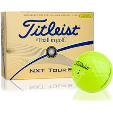 Titleist NXT Tour S Yellow Golf Balls