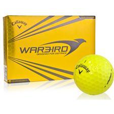 Callaway Golf Warbird Yellow Golf Balls
