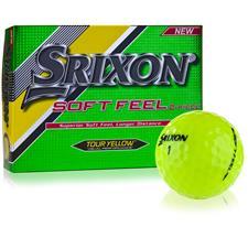 Srixon Soft Feel Tour Yellow Golf Balls