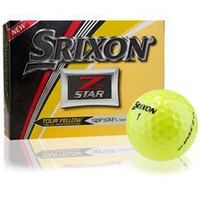 Srixon Z-Star 5 Tour Yellow Golf Balls