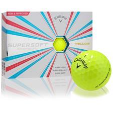 Callaway Golf Supersoft Yellow Golf Balls