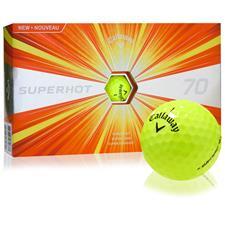 Callaway Golf Superhot 70 Yellow Golf Balls