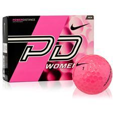 Nike Power Distance Women Pink Golf Balls