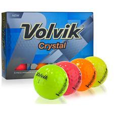 Volvik Crystal Multi-Color Golf Balls
