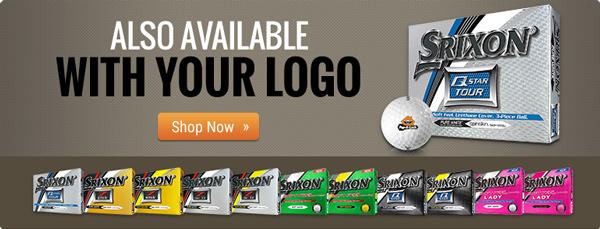 Custom Logo Srixon Golf Balls