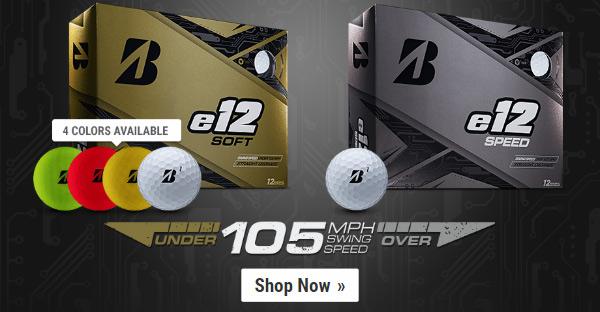 New for 2019 - Bridgestone e12 Golf Balls