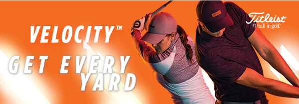 All-New Titleist Velocity - Get Every Yard